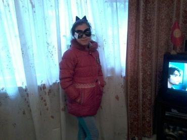 Зимний пуховик на девочку, очень в Бишкек