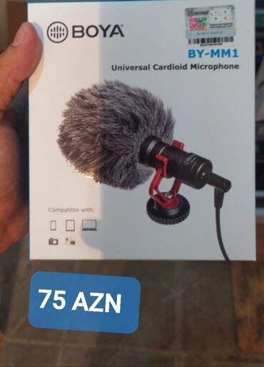 Mikrofonlar - Azərbaycan: BOYA BY-MM1