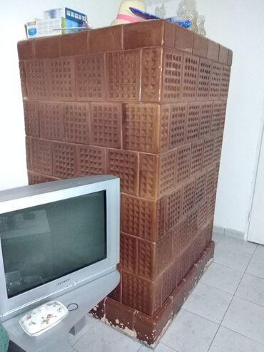 Elektronika - Zrenjanin: Prodajem polovnu kaljavu peć, ložište iz druge prostorije. Dimenzije