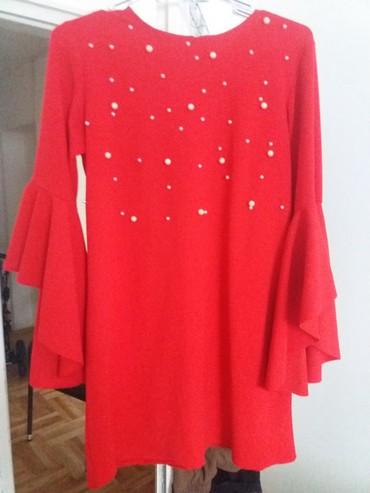 Crvena plisana haljina - Srbija: Nova crvena haljina L/XL