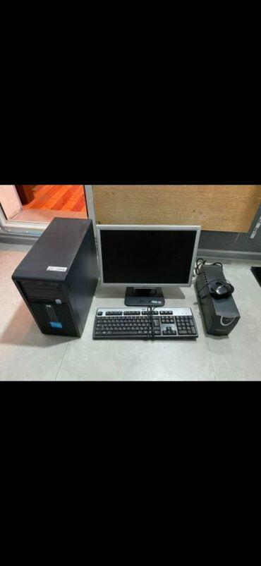 Masa ustu komputer satilir. Qiymeti 250 azn.Ekran Acer,processor HP