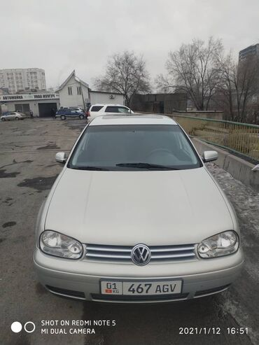 штатный иммобилайзер в Кыргызстан: Volkswagen Golf 1.8 л. 1999