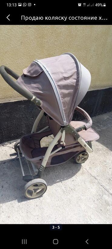 Детский мир - Новопокровка: Продаю детскую коляску 3 положение Складывается книжкой Состояние