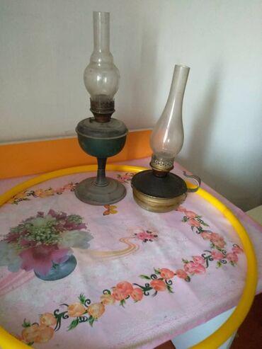 Лампы керосиновые СССР, низкая 300, высокая 400 сом