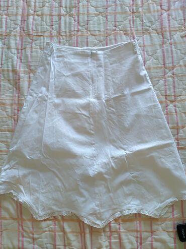 Ski jakne - Srbija: Basler bela suknja nova,38Novakupljena u inostranstvu. Jako lagana