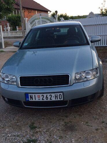Audi | Srbija: Audi A4 2 l. 2002 | 245768 km