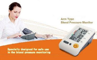 Aparat za pritisak - Srbija: Merač krvnog pritiska -Monitor BP-103H Heart Beat Meter Tester   POK
