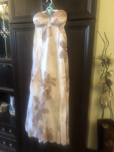 Платья в Чаек: Турецкий сарафан из дорогой ткани,размер S(42-44),сост.как