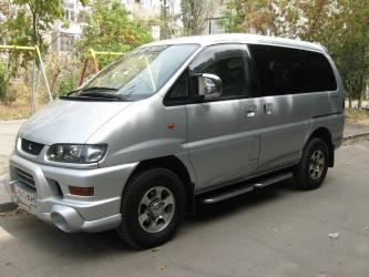 tufli kak labuteny в Кыргызстан: Сдаю Авто Mitsubishi Delica с водителем (для туристов англоговорящий