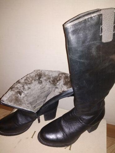 Продаю женские кожаные сапоги. Фирма cavaletto. Размер 36. Внутри на