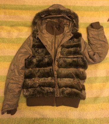 Утепленная куртка с капюшоном. в в Bakı