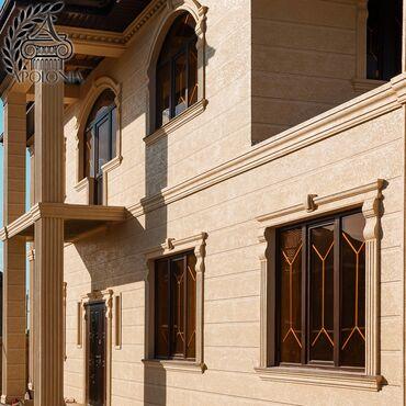 Декоративная штукатурка Декоративные элементы фасада Жидкий травертин