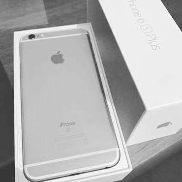 Iphone 6s plus silver 64 в Бишкек