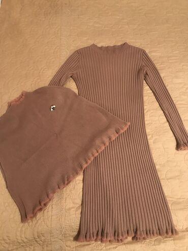 женское платье 54 в Кыргызстан: Продаю зимнее платье двойка носила всего 2 раза