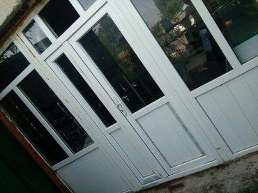 Двери в магазин (2,40 высота 3,20 ширина ). есть на неё ворота в Шопоков