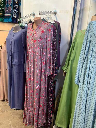 фасон узбекских платьев в Кыргызстан: Тотальная распродажа мусульманских платьев!!! И штапель, и бельмондо