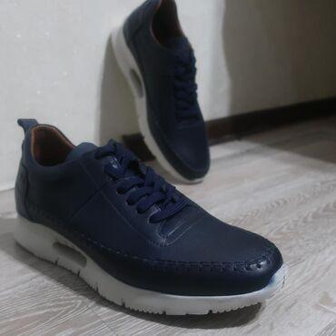 Мужская обувь в Кыргызстан: Полностью кожаные кроссовки. Производство Турция.  Размер 40-44