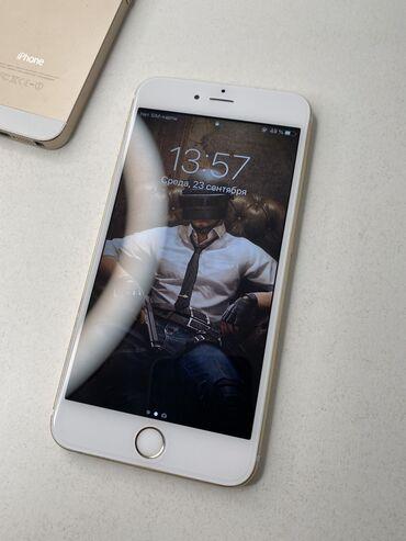 apple iphone 6 s в Кыргызстан: IPhone 6s Plus 64 ГБ Золотой