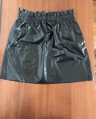 NOVA ZARA suknja, iznad kolena, 100% poliuretan, ORIGINAL