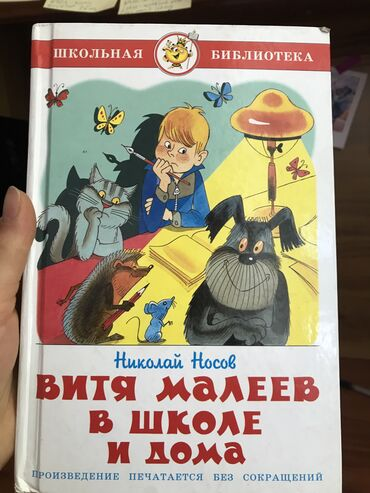 Книга. Витя Малеев и в школе и дома