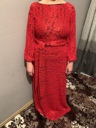гипюровое платье в пол в Кыргызстан: Платье Вечернее Iva L