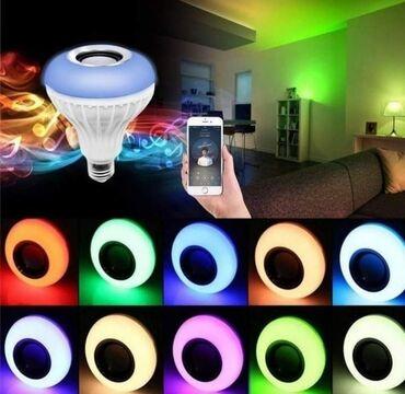 Telefoni mobilni - Srbija: Led RGB Bluetooth sijalica sa zvucnikomCena 1250 dinaraSvetli u ritmu