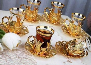 Продаю турецкий чайный сервиз 6 в Бишкек