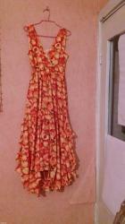 юбка в паетках в Кыргызстан: Цветной сарафан-44-46разм; тройка черного цвета - сарафан, юбка и