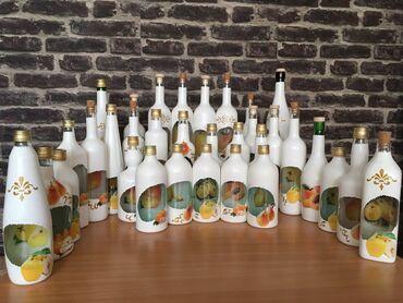 Rakija - Srbija: Flaše za rakijuIzrada po narudžbini sa voćem po izboru (šljiva
