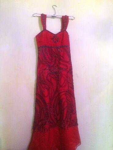 вечернее платье ручной работы в Кыргызстан: Платье в идеальном состоянии привезённая из Дубая одевала один внутри