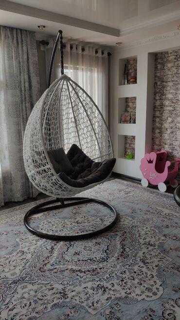 Другая мебель - Кыргызстан: Продаем подвесные кресла, качели, гамак,мебель из ротанга. Отличное
