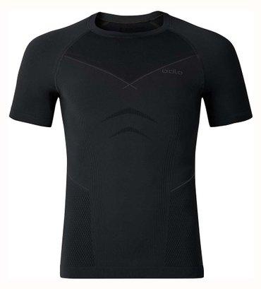 Majica sl - Srbija: Odlo- Clima Cool- Vrhunska crna muska slim fit majica za trening