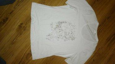 Majica sa printom, cirkonima i lancicima, velicina xl. Pogledajte i - Kikinda