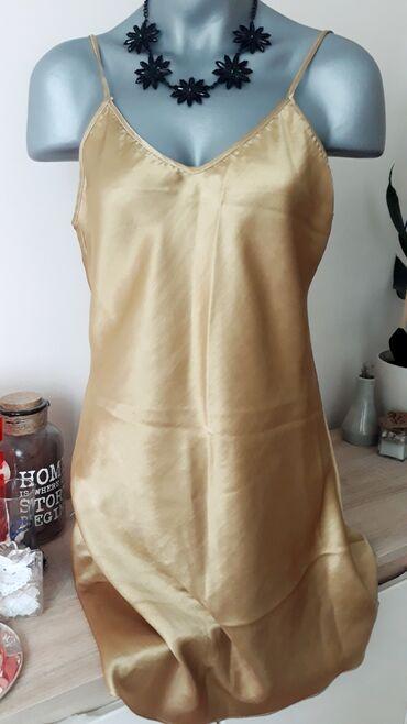 Ženska kućna odeća - Kraljevo: Spavacica od satena vel.40/42 (L/XL)