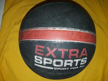Kosarka - Srbija: Kosarkaska lopta EXTRASPORTS, gumena lopta za basket na betonu u