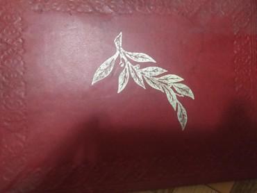 Красная папка с золотой ветвью для в Бишкек