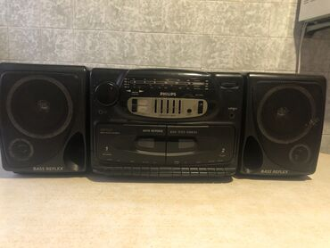 музыкальный центр в Кыргызстан: Продаю кассетный магнитофон с радио philips