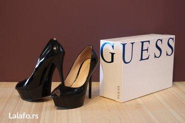 Guess - Ženske kožne cipele. Veličina: 37 Materijal: Koža. Boja: - Beograd