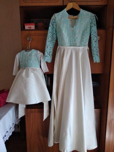 платье мама и дочь в Кыргызстан: Продаю или сдам на прокат платья мама&доча, можно по отдельности
