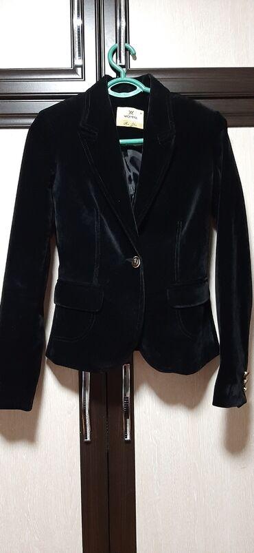 Продаю женский классический короткий пиджак ткань турецкий бархат цвет