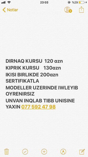 dirnaq shellac - Azərbaycan: Kurslar | Manikür, pedikür