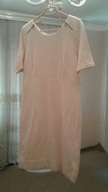 Bakı şəhərində Трикотажное платье нежно розового цвета, длина платья 100см