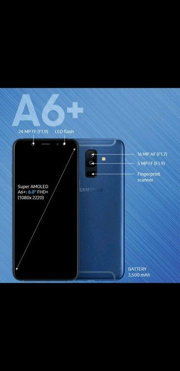 Goranboy şəhərində Samsung Galaxy A6 plus 2018