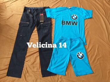 Set pantalone/farmerice BMW komplet 1.600 dinara Novo