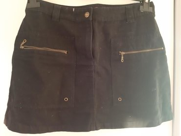 Crna suknjica H&M Broj 36