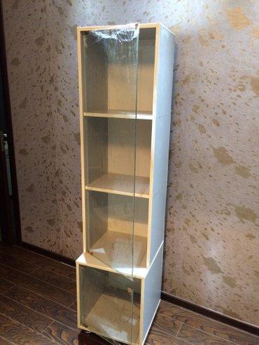 Шкафчик удобный с стеклянной дверью в Бишкек