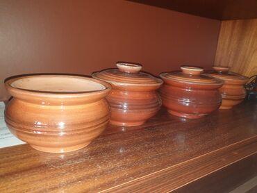 Глиняные горшки для приготовления пищи