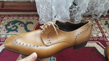 Туфли мужское кожа ручнае работа 40 размер цена 999 без торг....)) в Бишкек
