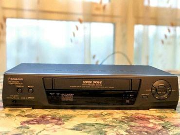 наушники panasonic rp hje118 в Кыргызстан: Видеомагнитофон Panasonic модель: NV - SD320 с лазерной головкой считы