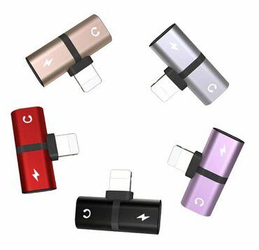 Adapter za punjenje i slusalice iPhoneAdapter uz pomocu koga mozete da